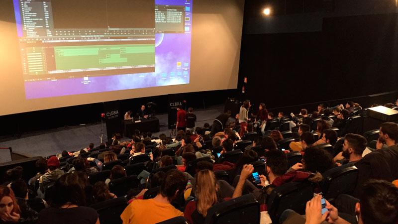 Los encuentros de cine de CiBRA son uno de los pilares de este Festival que posibilita conocer la profesión del cine desde dentro