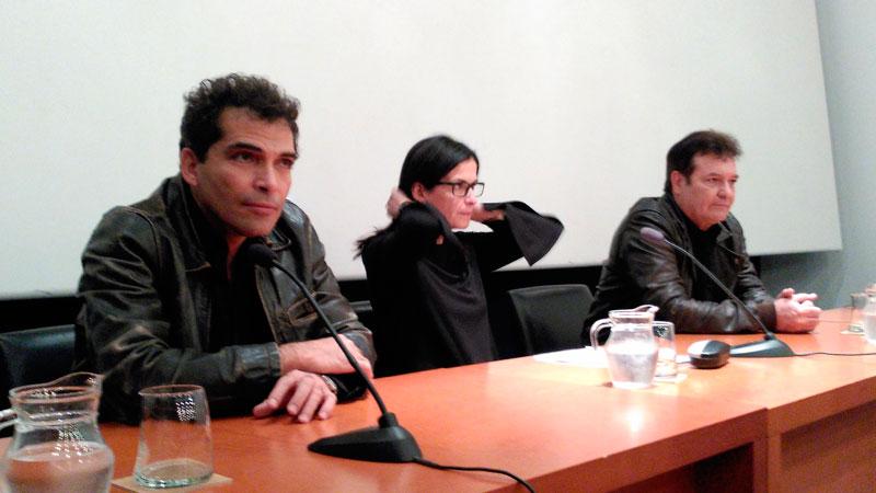 Jorge Perugorría y Vladimir Cruz alaban la labor de CiBRA aunando cine y literatura