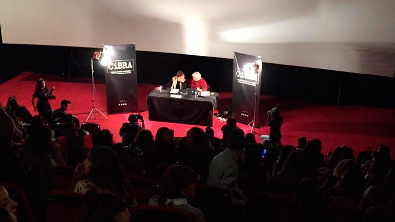 Maquillaje de cine en CiBRA de la mano de Sylvie Imbert