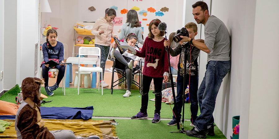 Los más pequeños han participado en la segunda edición del taller